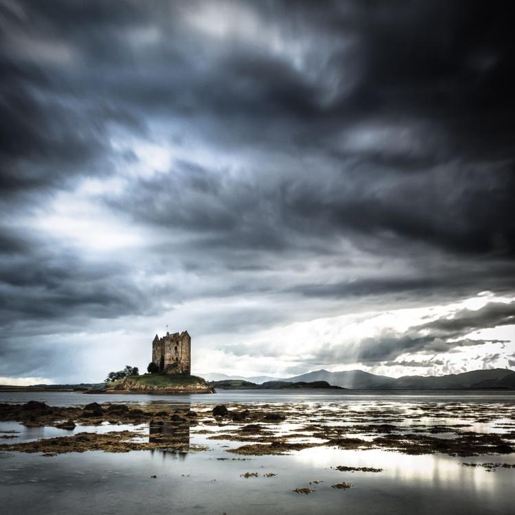 Castle Stalker, Loch Laish - Image 0