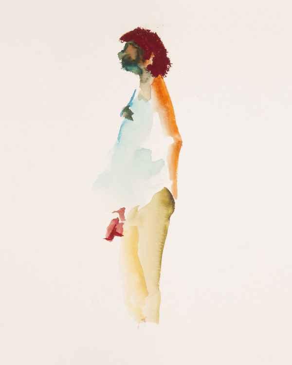 Watercolor study -