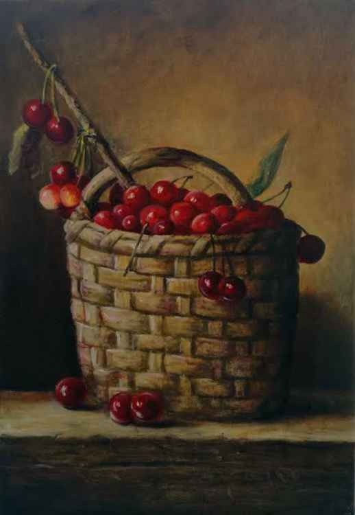 Cherries in the basket -