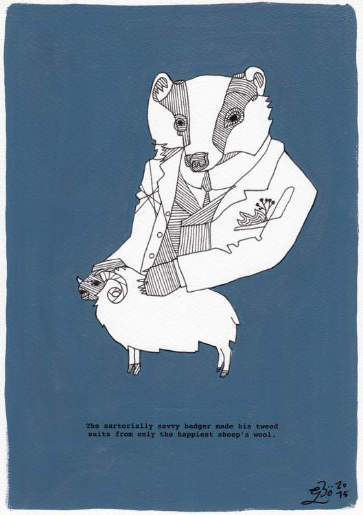 The Sartorially Savvy Badger - Image 0
