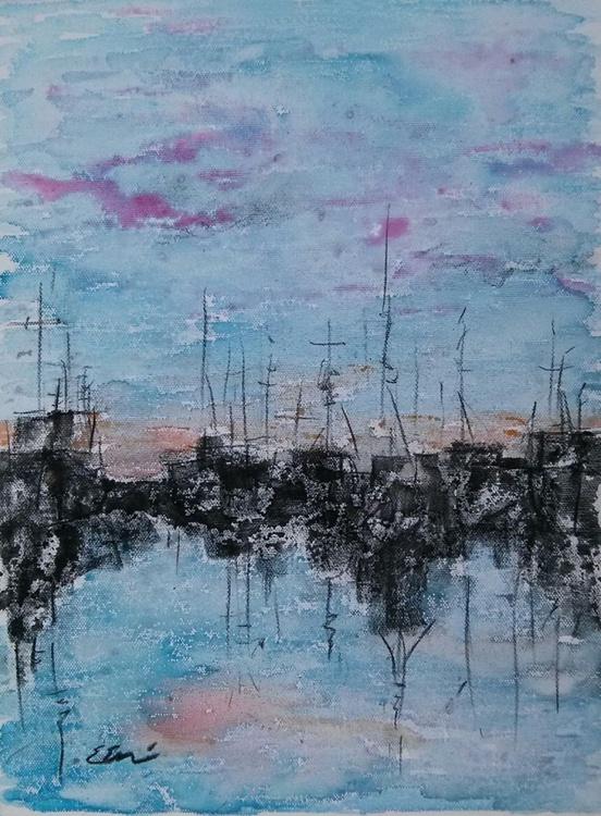 boats at the sunrise - Image 0