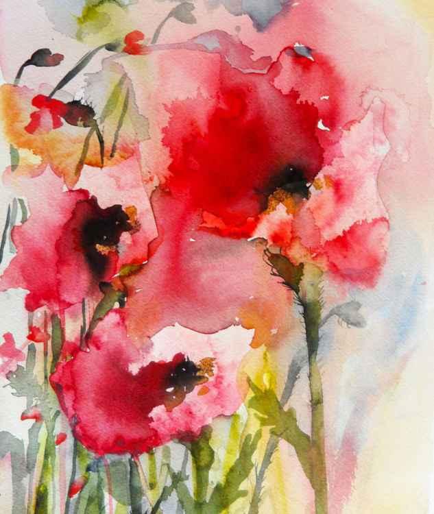 Summer Poppies II -