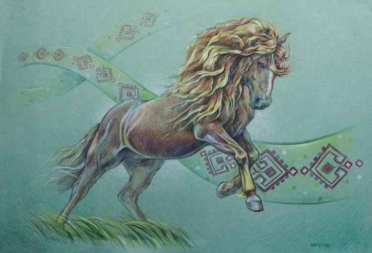 Bukovina draft horse -