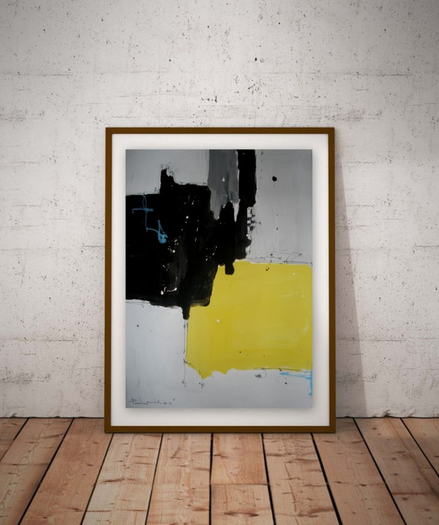 Yellow No 136, Abstract paper collection - Image 0