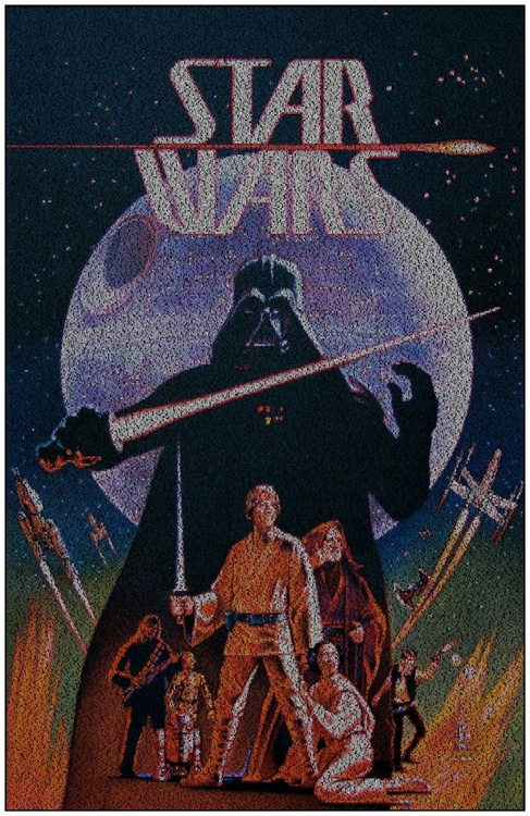 Star Wars. Ralph McQuarrie/Lawrence Noble Print - Image 0