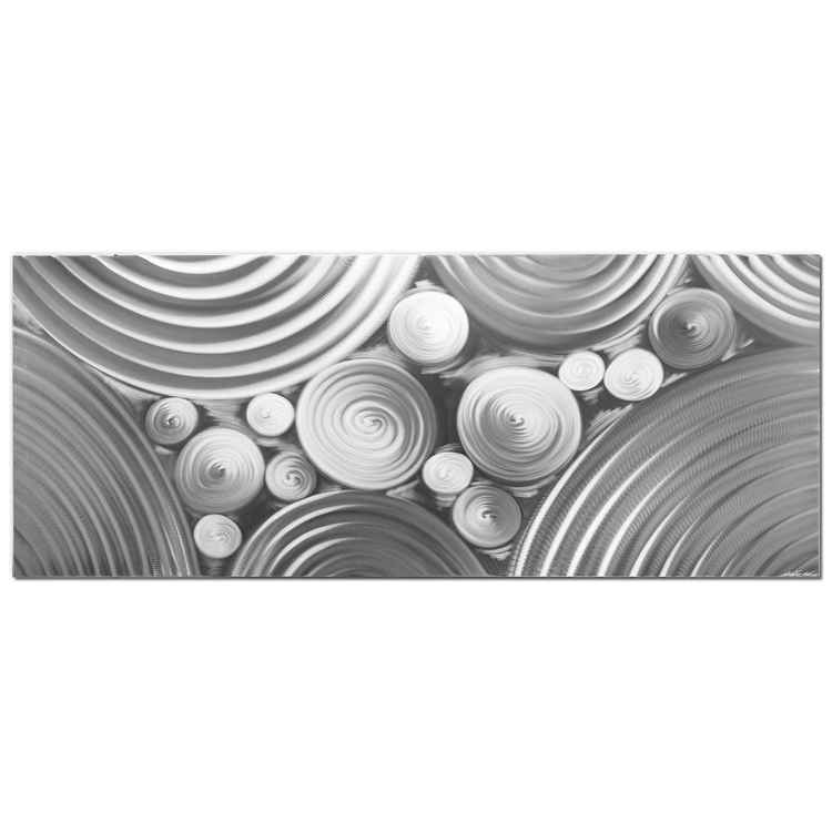Interdiffusion Composition | HD Metal Art Photo Print, Giclée on Metal -