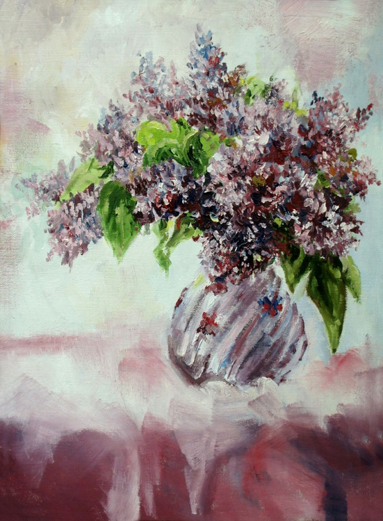 Lilac in a Vase - Image 0