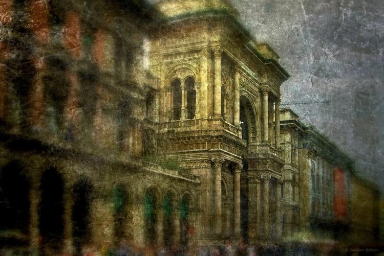 -Milan - Galleria Vittorio Emanuele II  - Canvas 75 x 50 cm - Image 0