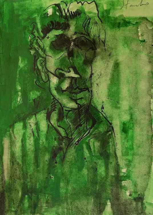 Portrait in green -