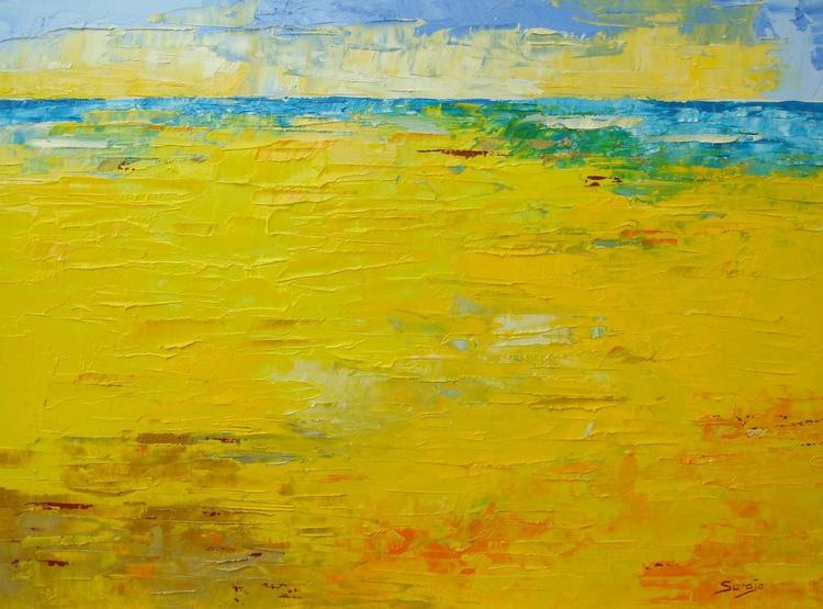 Yellow Beach (ref#:1184-6F) - Image 0