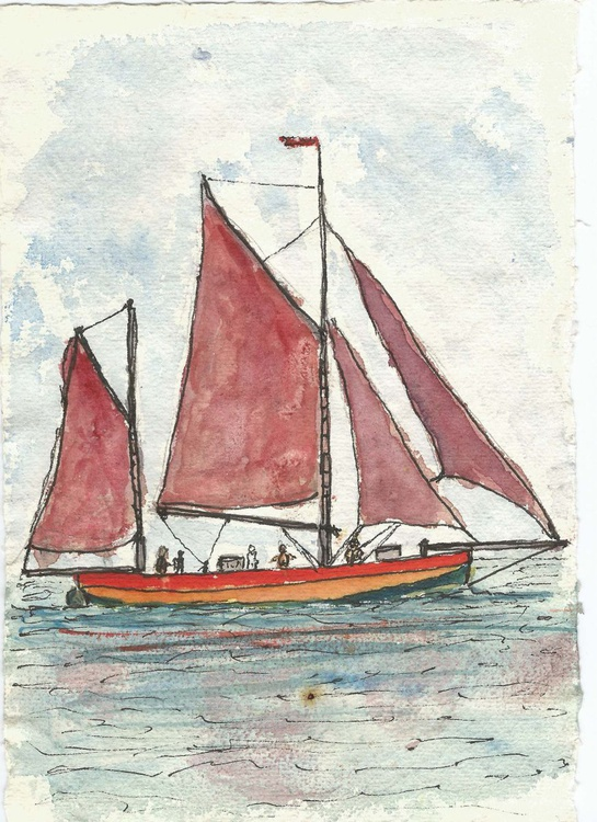 The Red Boat - Image 0