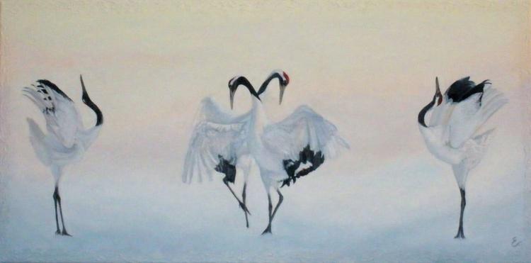 Dancing cranes - Image 0