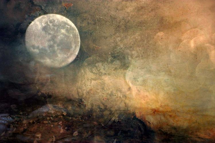 Luna - Canvas 75 x 50cm - Image 0