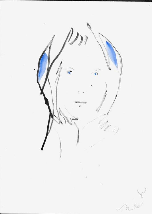Classical Portrait 2, 21x29 cm - Image 0