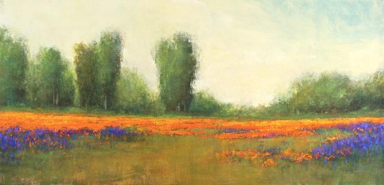 Spring Poppy Field - Image 0