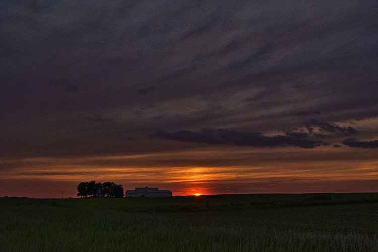 American Prairie Sunset -