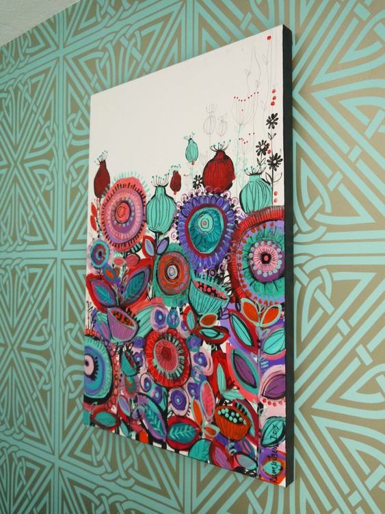 Boundless Beauty - 90cm x 60cm, ready to hang - Image 0