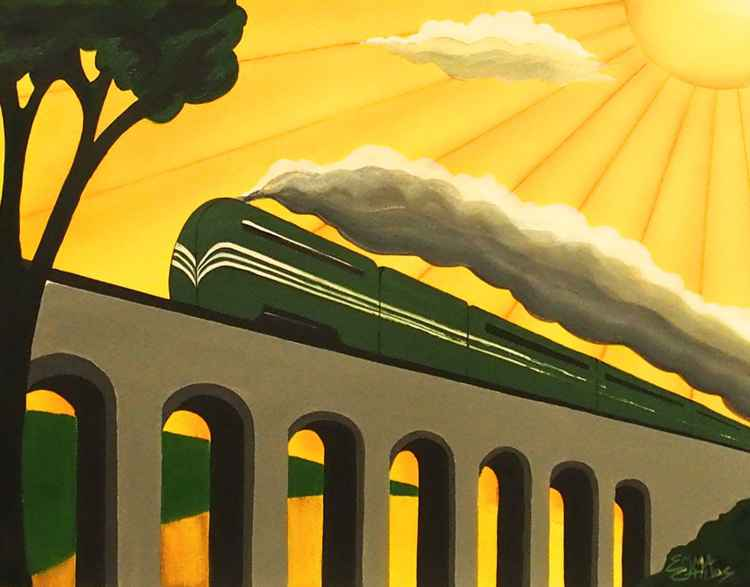 Art Deco Coronation Scot -
