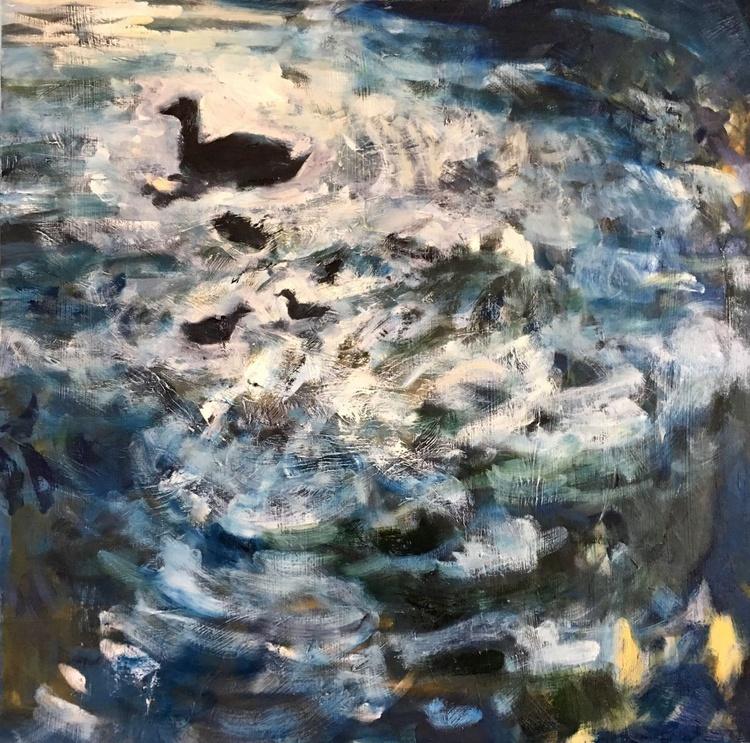 Ducks in a Cloud - Image 0