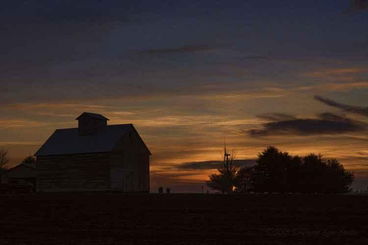 Prairie Evening -