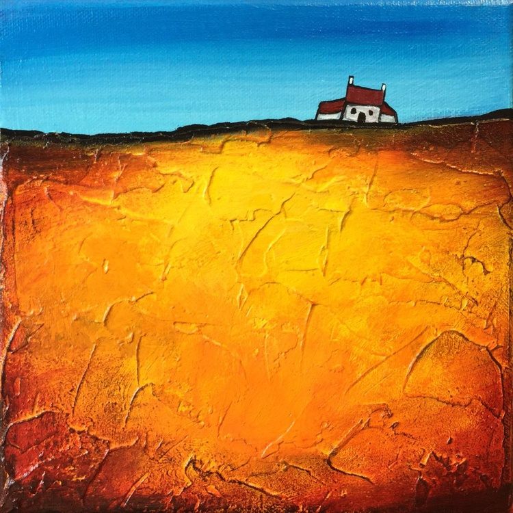 Little house on gold - Image 0