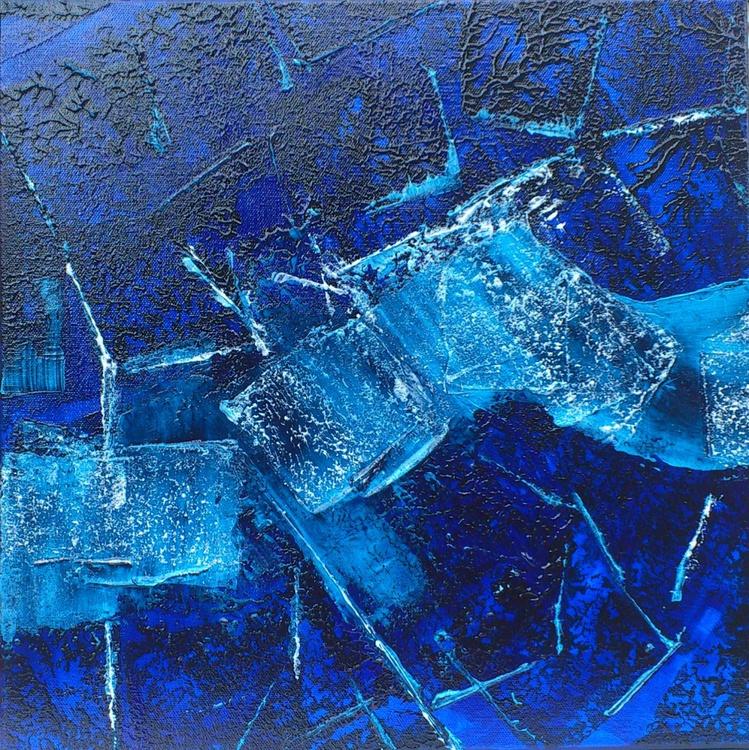 So blue, so calm #15015 (40x40cm) - Image 0