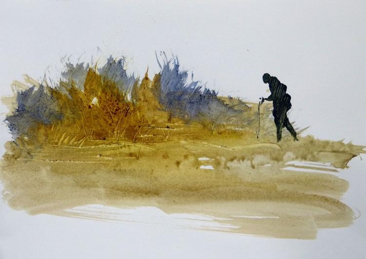 Pilgrim 1, 21x29 cm - Image 0