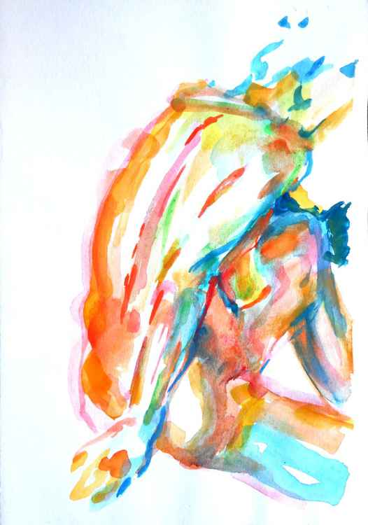 Nude from the back III -