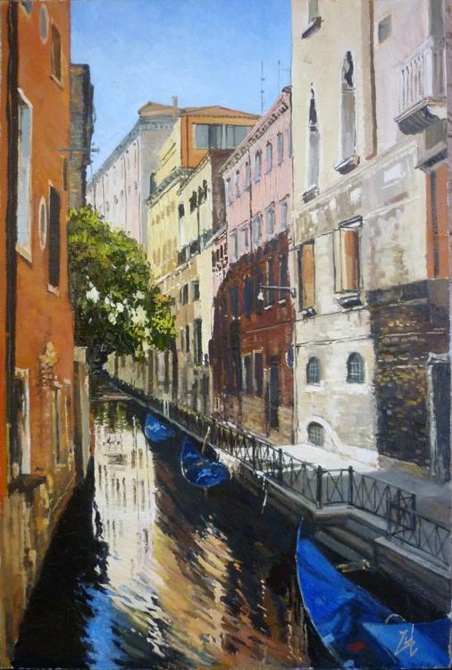 Gondola Parking in Venice - Image 0