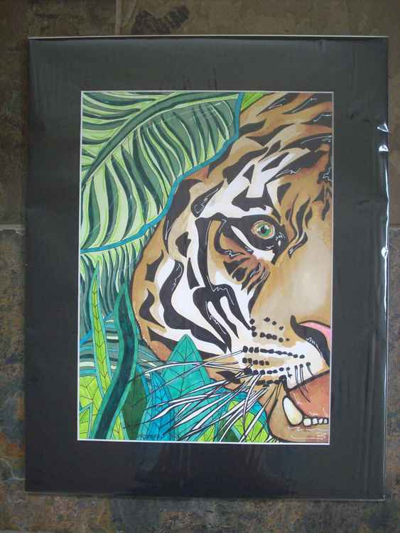 Tiger in the Jungle -
