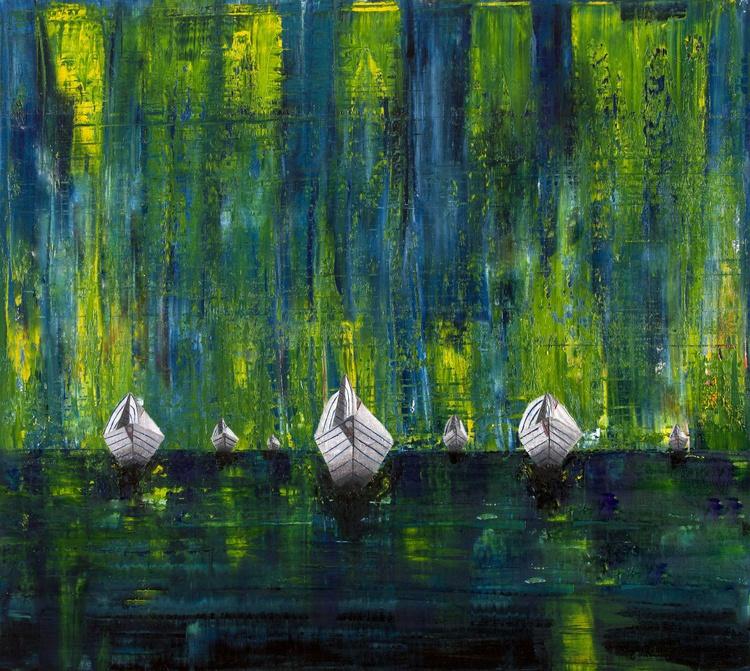 A Fleet of Paper Boats - Image 0