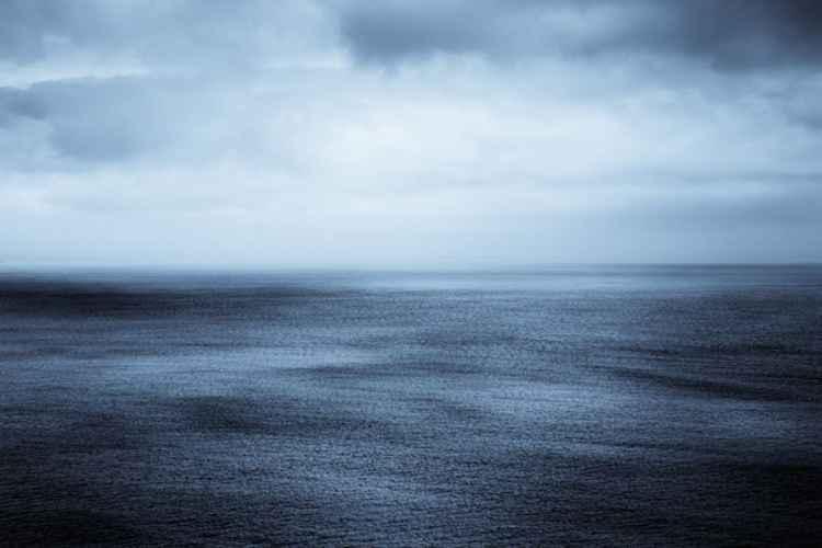 Blue Cornish Sea -