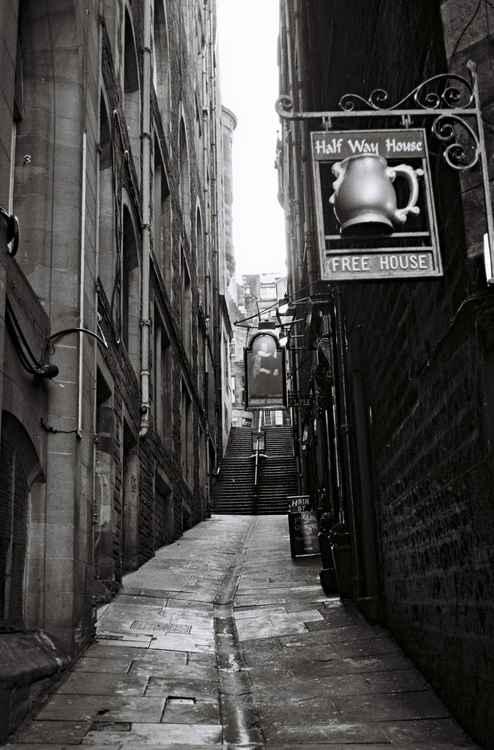 Fleshmarket Close, Edinburgh -
