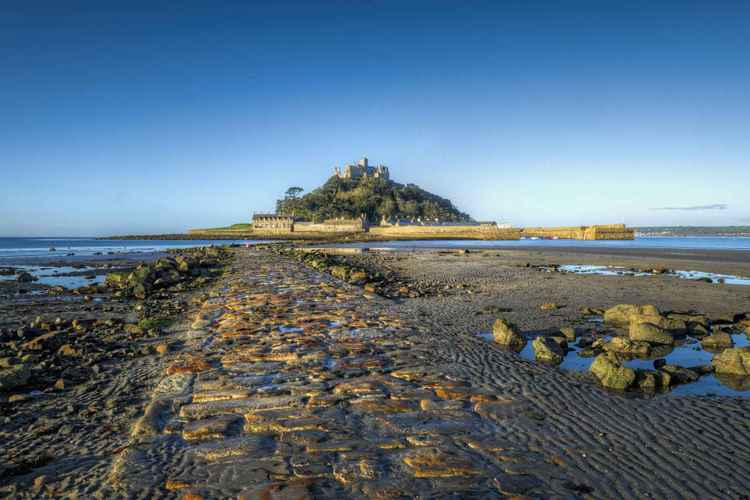 Daybreak at St Michael's Mount -
