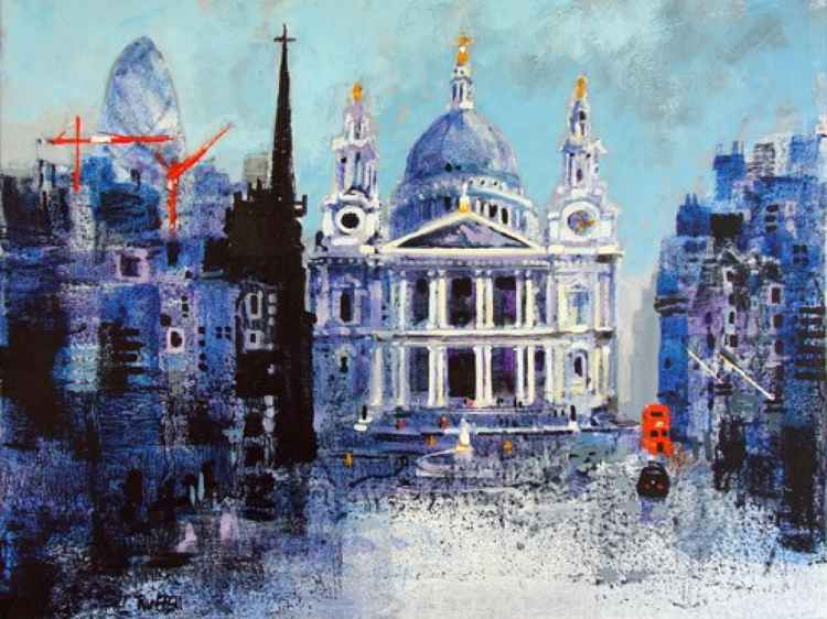 ST PAULS AND BUS -