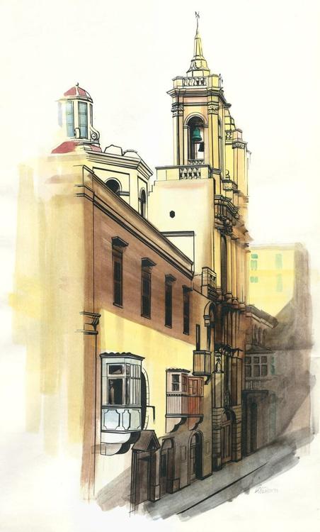St Dominics, Valleta, Malta - Image 0