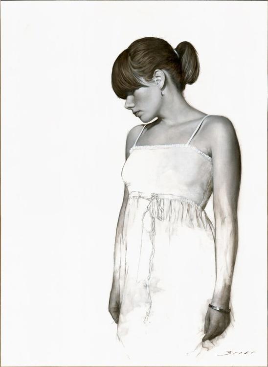 White Dress Study No.1 - Image 0