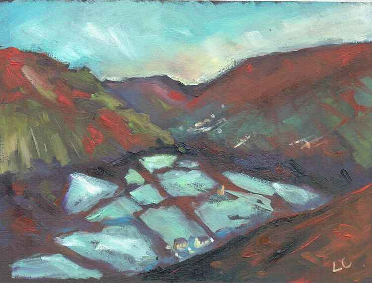 Frost Pocket Fields, Pwll Du.   No.142 of 365 Project -