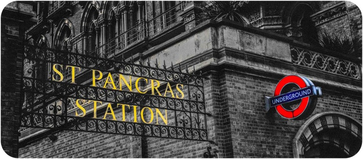London St Pancras & Underground - Limited Edition Print - Image 0