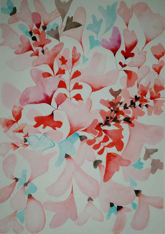 From my watercolour 'Floral' series