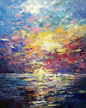 """Sunset Symphony"" by Tatiana Iliina"