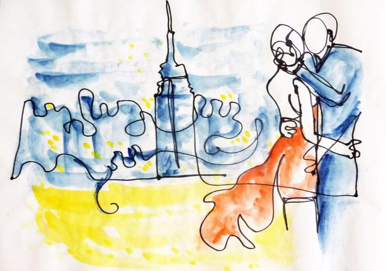 1 Line - Love New York - Image 0