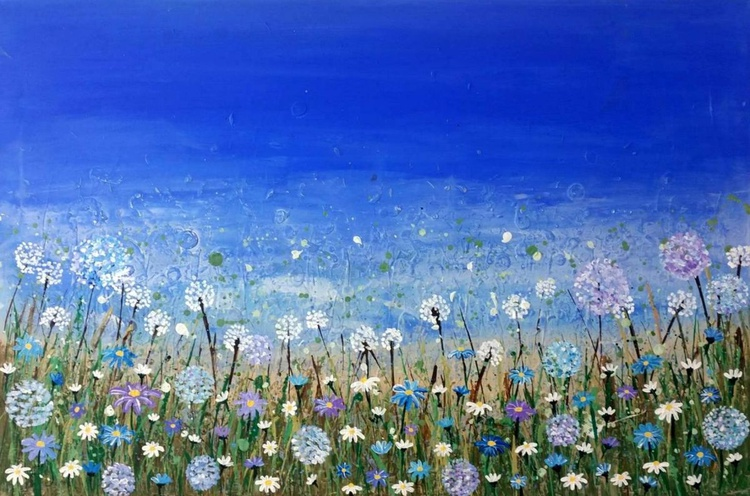 Blue Daisies - Image 0
