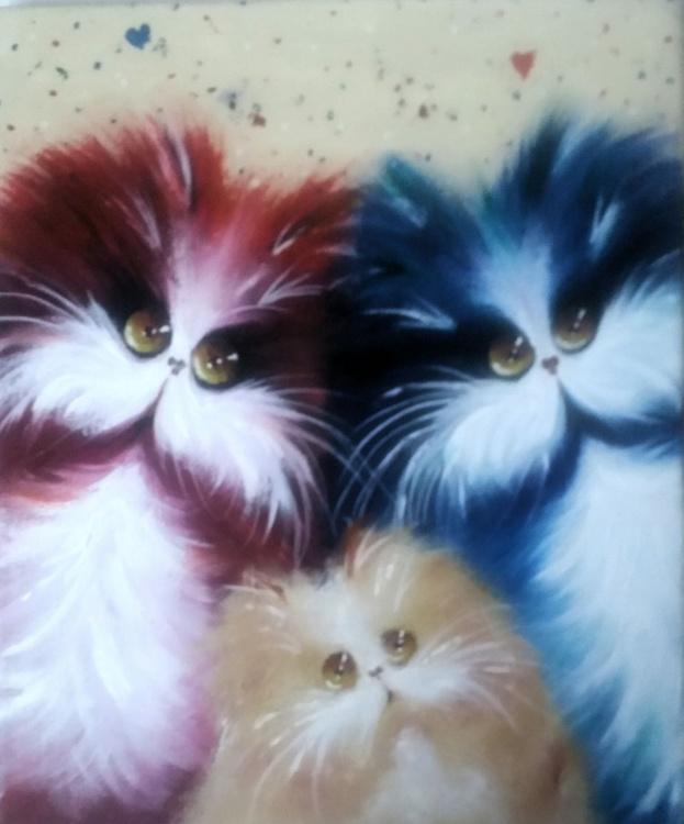 Happy cats. - Image 0