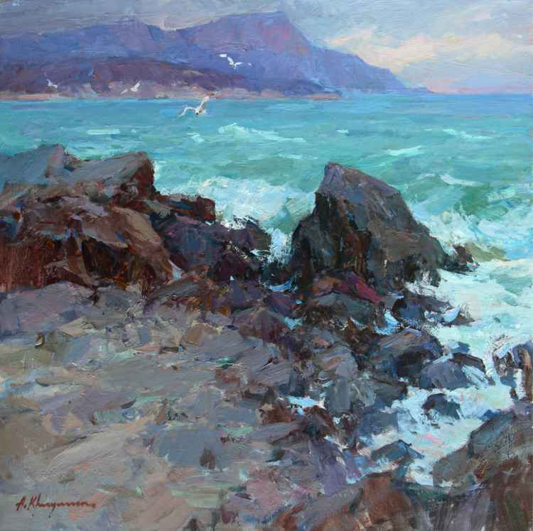 At the Black Sea -