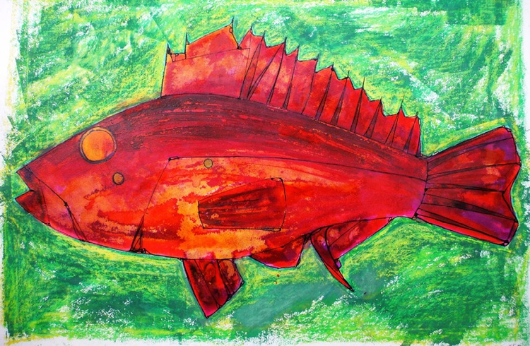 Red Fish - Image 0