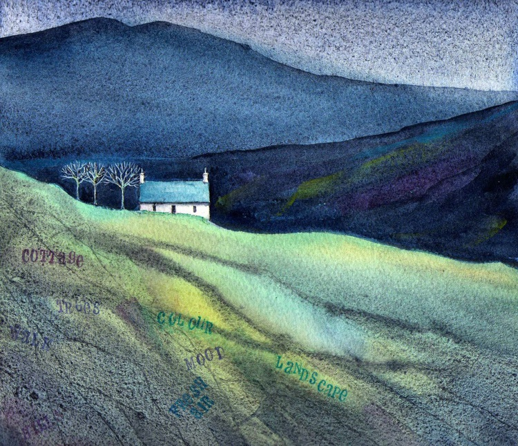 Cottage in the Glen. - Image 0