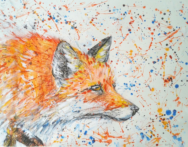 """""""Fox on the prowl"""" - Image 0"""