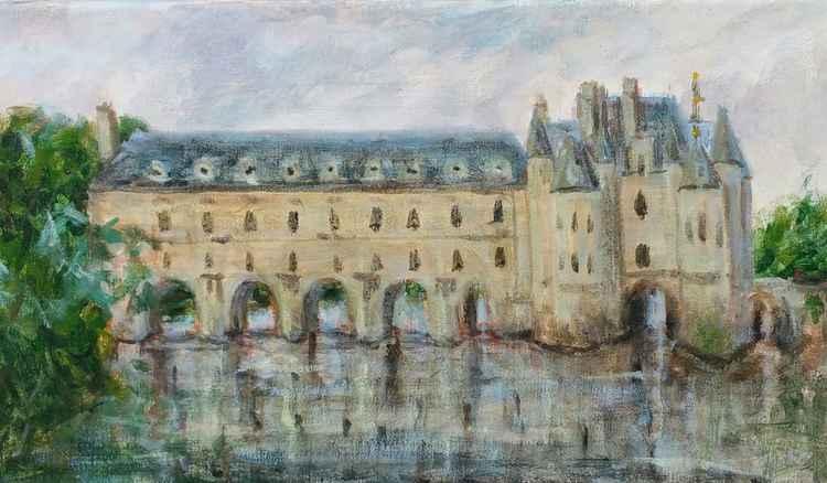 Loire castle -