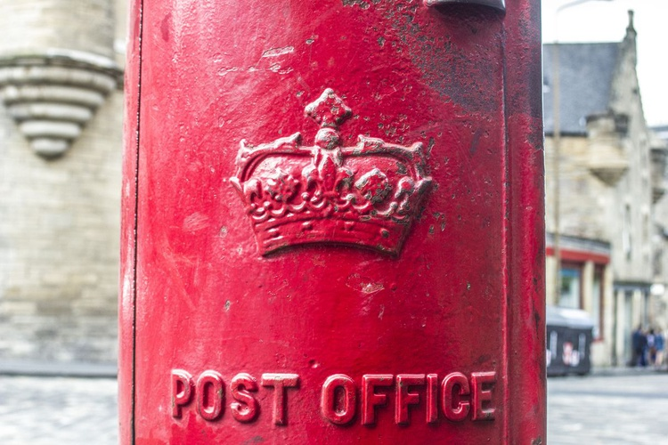 RED POSTBOX Limited edition  1/20 18X12 - Image 0